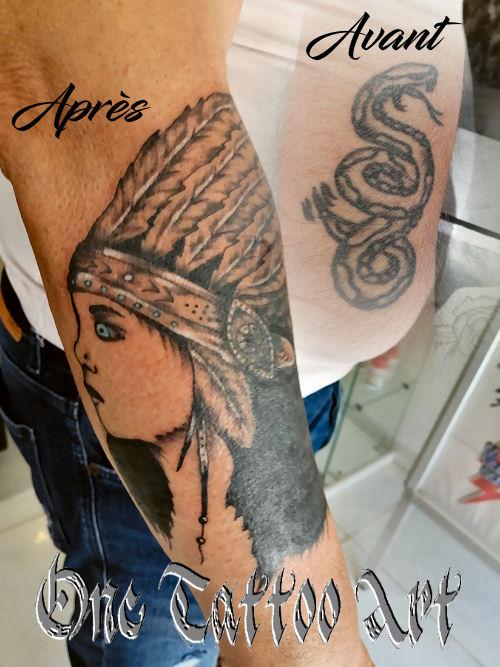 one tattoo art - cover tattoo