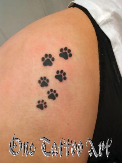 Pattes de chat tattoo-one tattoo art - frejus