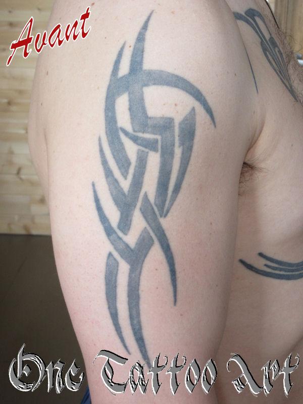 réparation tribal - One Tattoo Art