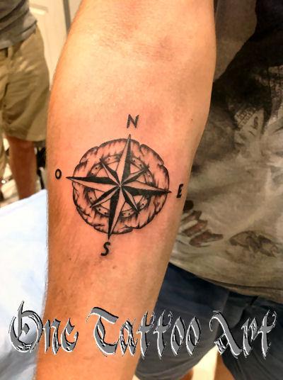 Rose des vent - One Tattoo Art