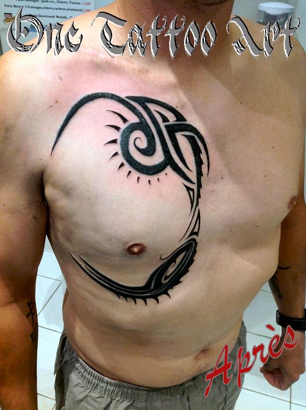 Tribal - réparation One Tattoo Art - Vence 06