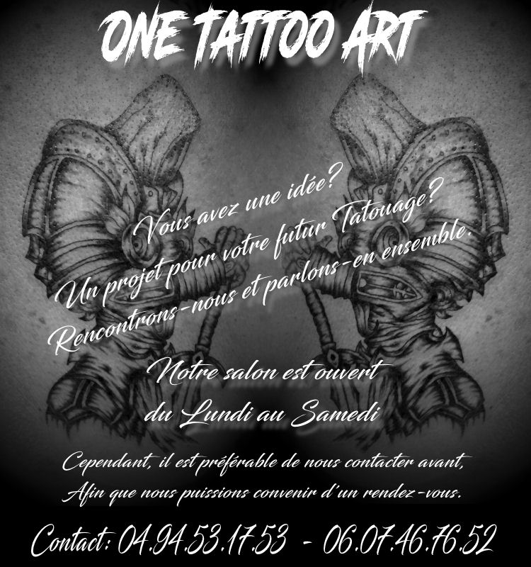 Accueil one tattoo black