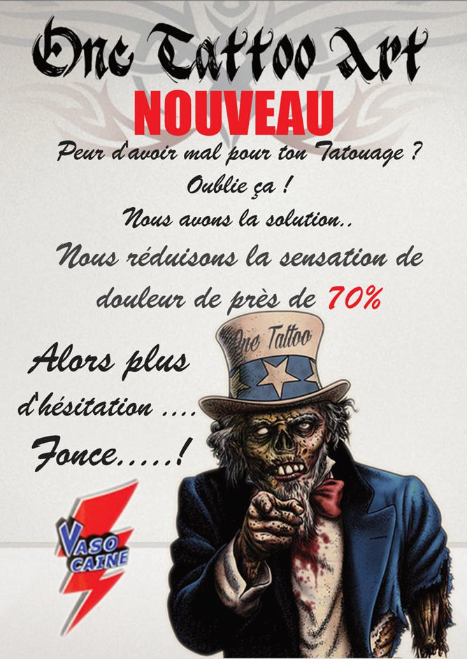 Affiche one tattoo art 1