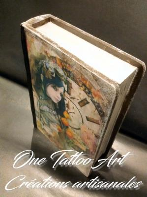 Grimoire boite one tattoo art creation artisanale 2