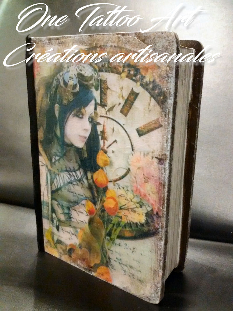 Grimoire boite one tattoo art creation artisanale