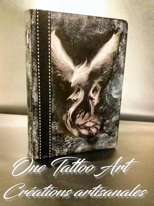 Grimoire phoenix one tattoo art creation