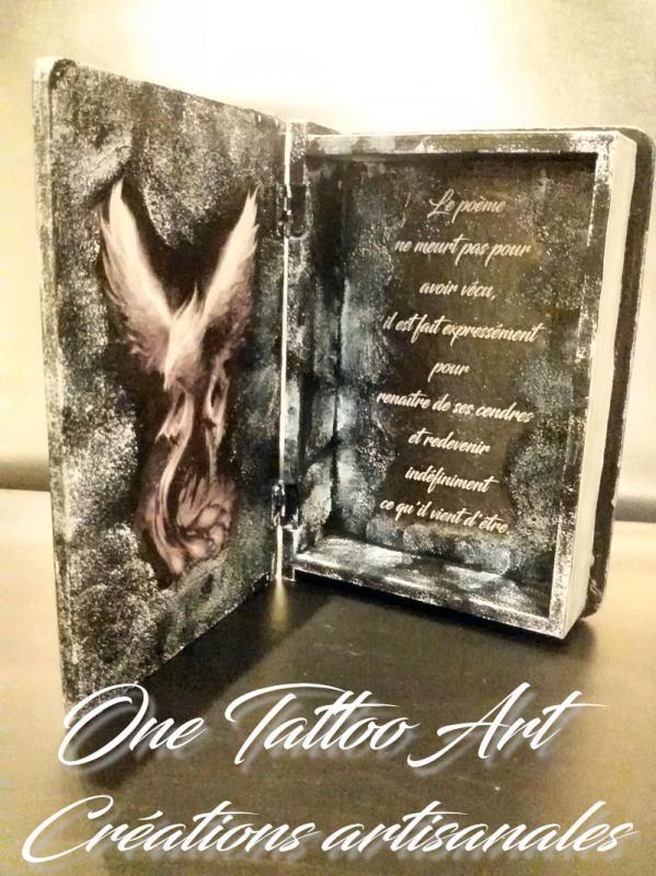 Grimoire phoenix one tattoo art