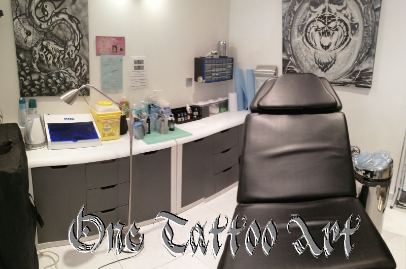One tattoo art salon 3