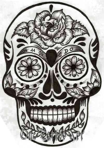 Tatouage carros - Tattoo crane mexicain ...