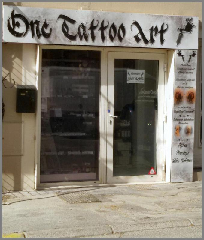 One tattoo salon frejus