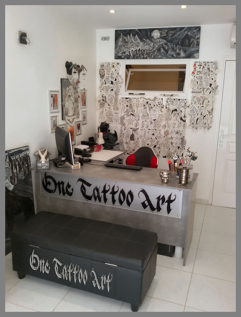 Salon one tattoo art frejus 1