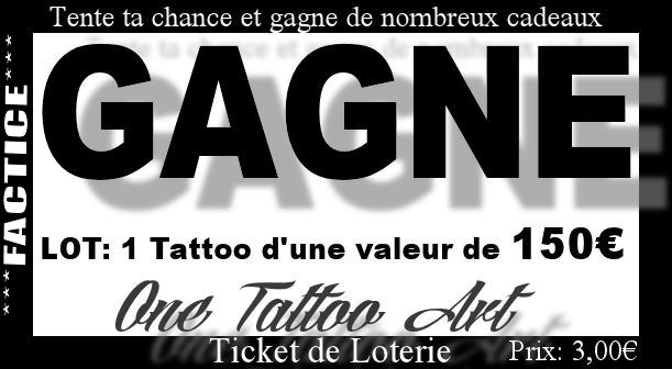 Tattoo 150 factice