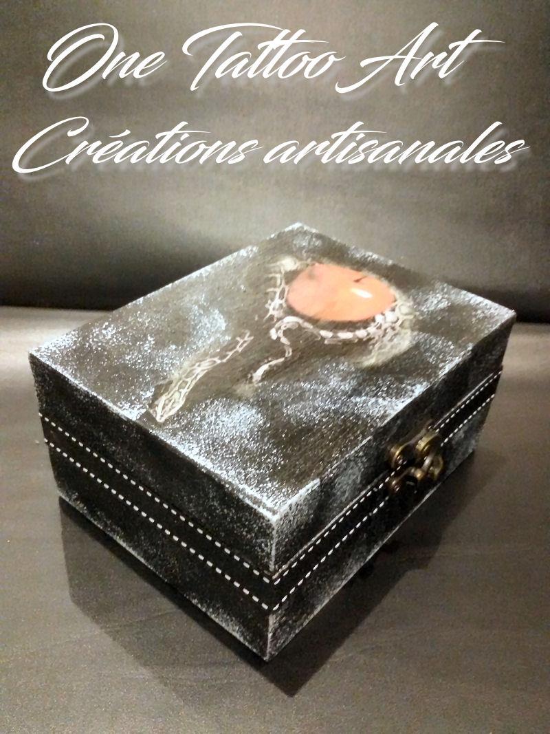 boite à bijoux - one tattoo art - idée cadeau