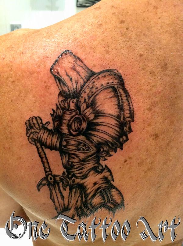 diablo - one tattoo art