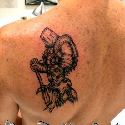 diablo- One tattoo