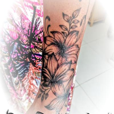 fleur tattoo