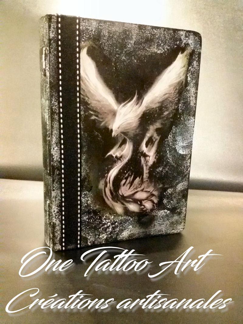 grimoire phoenix - one tattoo art création