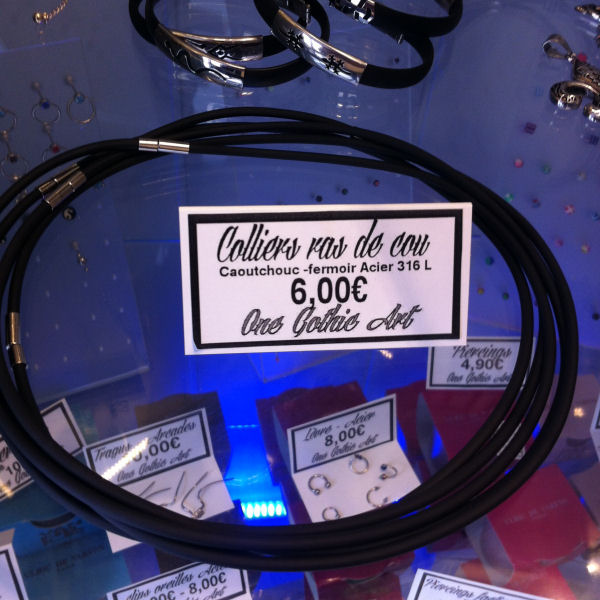 6,00€ tour de cou