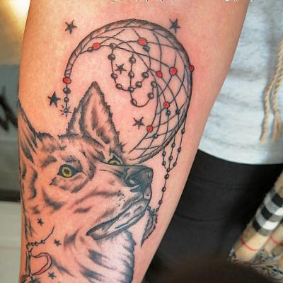 loup one tattoo art