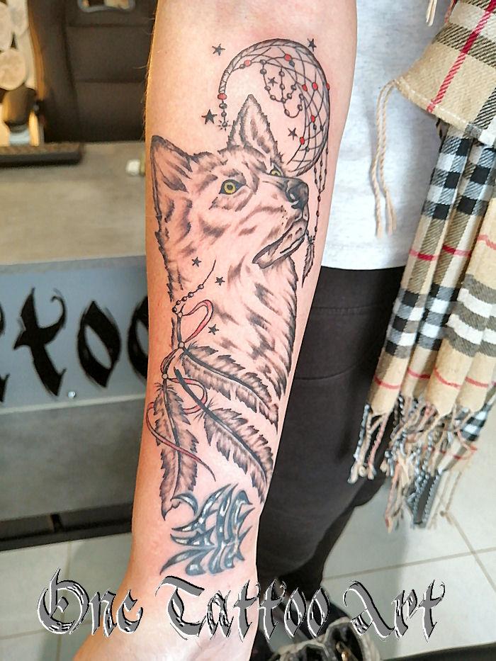 loup tattoo one tattoo