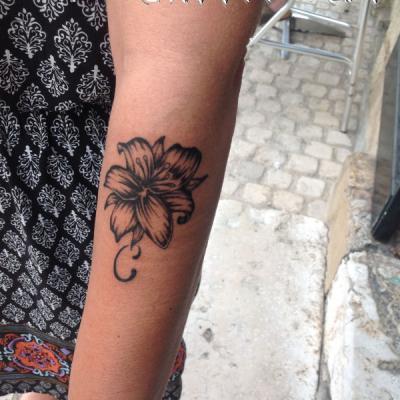 One tattoo Art