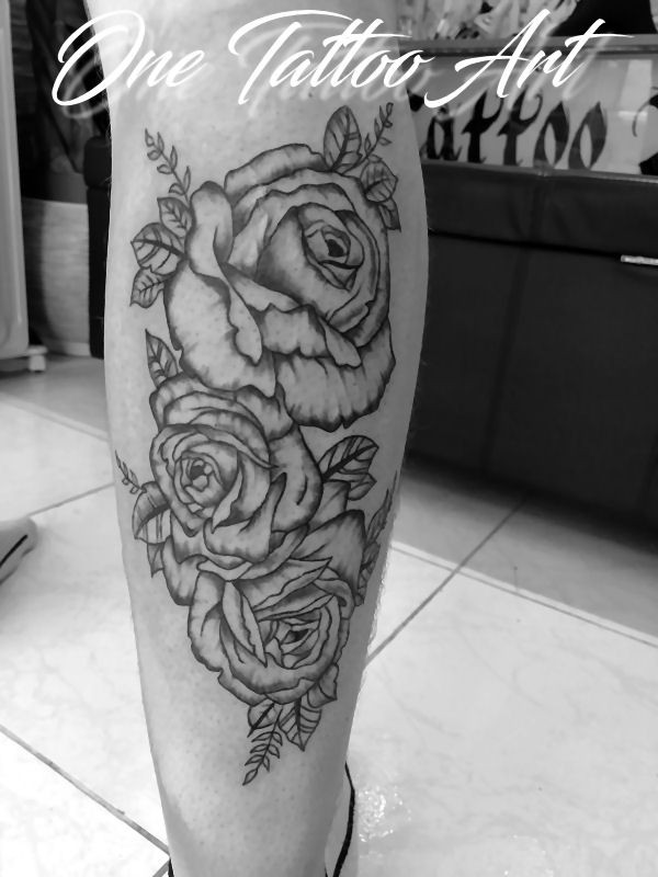 Rose one tattoo art 2