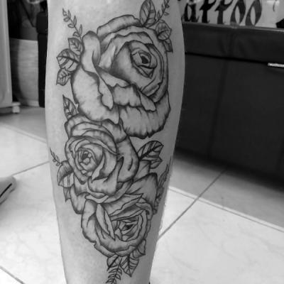 Rose one tattoo art 2