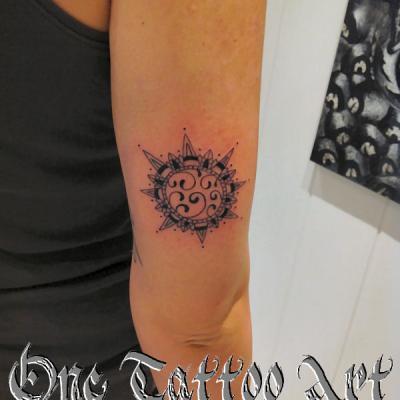 soleil one tattoo