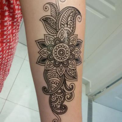 tatouage ephemère - one tattoo art