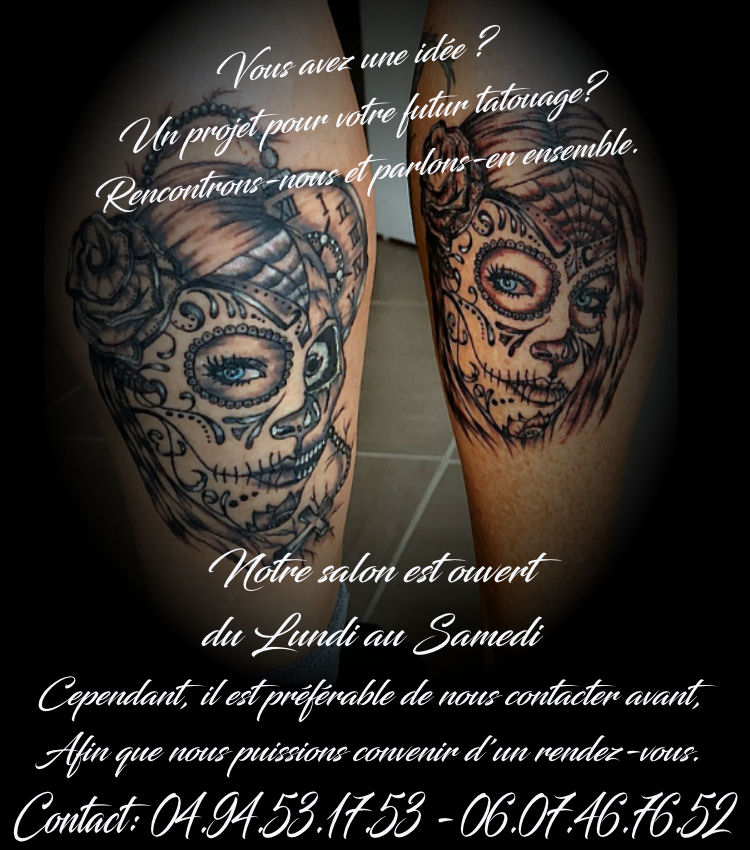 One tattoo art home page